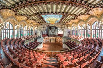 Saltafila: tour del Palau de la Música Catalana di Barcellona