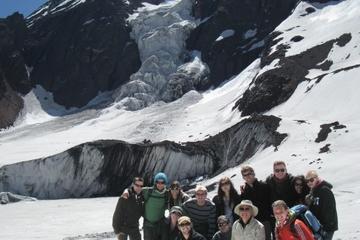 El Morado-Tagesausflug in kleiner Gruppe und heiße Quellen ab Santiago
