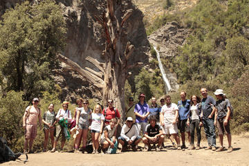 Private Andes Waterfall Tour from Santiago