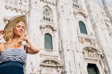 Privéfotoshoot in Milaan