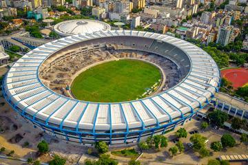 Visite du stade de Maracanã en petit...
