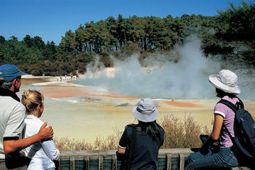 Entrada a Wai-O-Tapu Thermal Wonderland