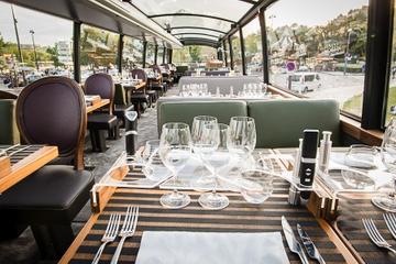 Circuit gastronomique en bus dans Paris avec déjeuner ou dîner