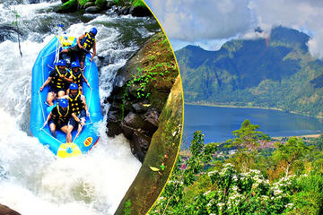 Bali Rafting and Private Combination Kintamani Tour