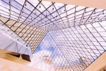 Entrada al Museo del Louvre con presentación por parte de un anfitrión