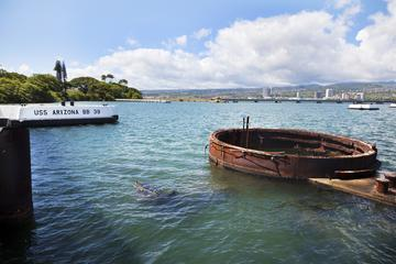 オアフ真珠湾を行く戦艦ツアー