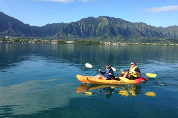 Kaneohe Bay Kayak and Snorkel Tour to