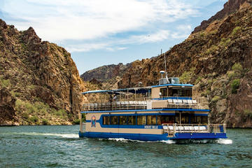 Day Trip Desert Belle Sightseeing Cruise on Saguaro Lake near Mesa, Arizona