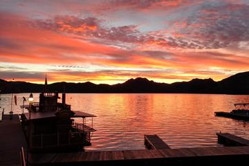 Day Trip Saguaro Lake Sunset Cruise with Live Music near Mesa, Arizona