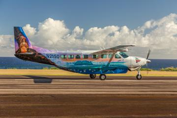 Big Island Flug bei Sonnenuntergang ab Kona