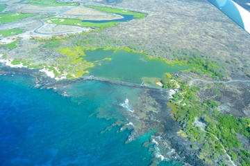 Rundflug der größten Insel Hawaiis, Big Island, im Cessna-Flugzeug