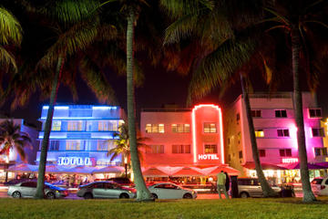 Visita privada: Recorrido turístico nocturno por Miami