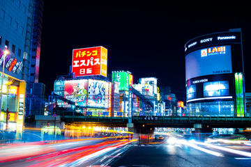 Excursion photo nocturne à Tokyo