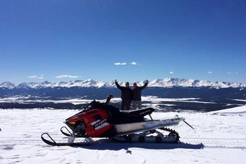 Mountain Top Action Snowmobile Tour