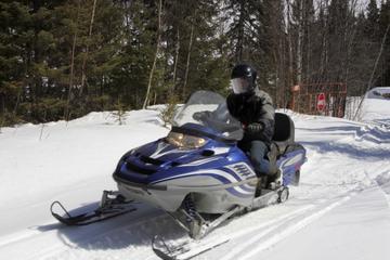 Rocky Mountains Snowmobile Tour...