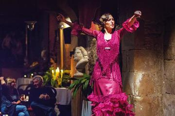 Barcelona Evening Flamenco Show and Gourmet Dinner with Premium Small...
