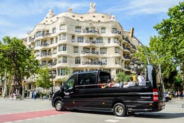 Offener Luxus-Minibus, Bootstrip und...