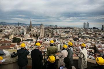 Tour a piedi della città vecchia di Barcellona dall'alto