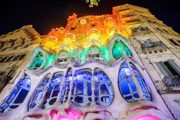 Visite haut de gamme en petit groupe en minibus de luxe à Barcelone...
