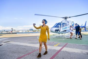 Vuelo en helicóptero, visita a pie y...