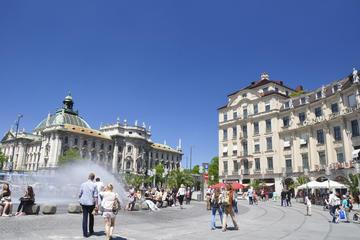 Tour in bicicletta di Monaco con visita facoltativa a Königsplatz e
