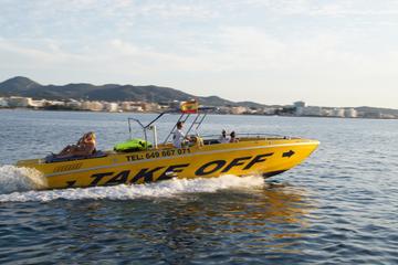 Crucero en lancha motora en Ibiza