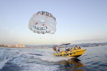 Expérience de parachute ascensionnel à Ibiza