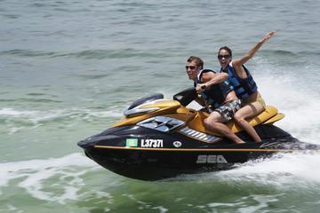 Expérience en Jet Ski avec guide dans la baie de San Antonio à Ibiza