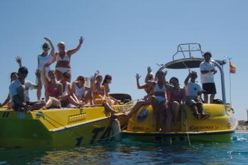 Experiencia en lancha motora o yate en Ibiza