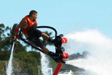 Noleggio di flyboard nella baia di San Antonio a Ibiza