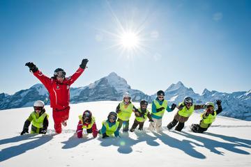 Halbtägiger Ski- oder Snowboard-Einführungskurs in Grindelwald ab...