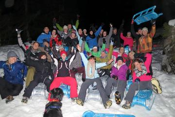 Night Sled Ride with Optional Fondue