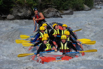 Rafting en eaux vives sur la rivière Lütschine au départ d'Interlaken