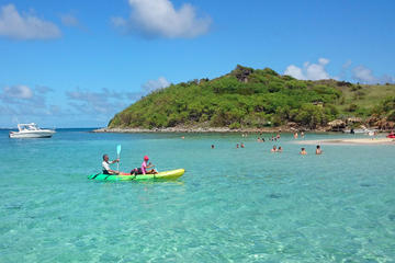St Martin Kayak Rental to Pinel Island