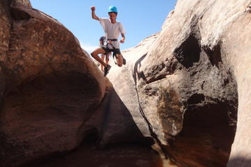 Day Trip Moab Canyoneering Adventure near Moab, Utah