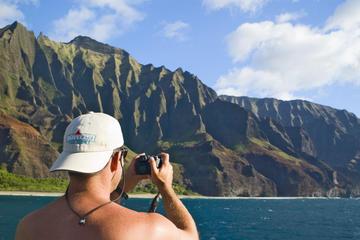 Half-Day Na Pali Kauai Catamaran Snorkeling Cruise with Lunch