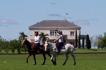 Werden Sie ein Polospieler: Tagesausflug zur Puesto Viejo Estancia