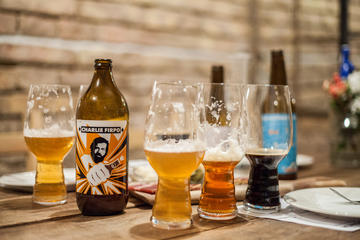 Small-Group Craft Beer Tasting with Charcuterie in Budapest