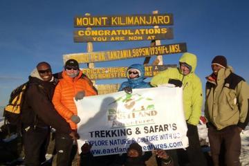 8 days Kilimanjaro trekking via...