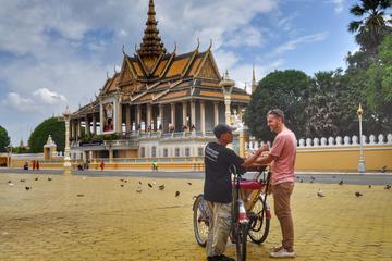 Self-Guided Cycle-Rickshaw (Cyclo) tour of Phnom Penh