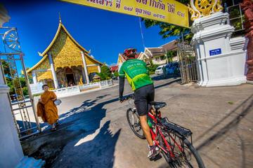 Encantadora excursão de bicicleta por Chiang Mai
