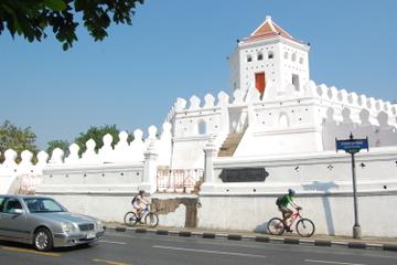 Vélo à Bangkok: visite de la ville historique