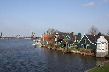 Amsterdam-Kombi: Halbtägige Zaanse Schans Tour mit Amsterdamer...