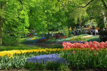 Amsterdam-Tagesausflugs-Kombi: Keukenhof-Gärten und Zaanse Schans...