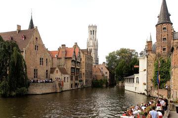 Excursion d'une journée à Bruges au départ d'Amsterdam avec balade à...