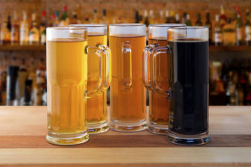 Tour de dégustation de bière en petit...