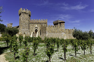 Day Trip Napa Valley Wine Trolley and Castle Tour near Yountville, California