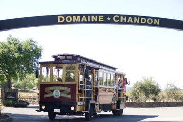 Tramway du vin de la vallée de Napa