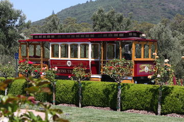 Wijntrolleybus Sonoma Valley