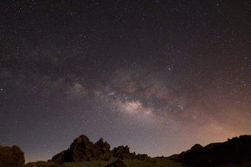Esperienza di osservazione delle stelle col potentissimo telescopio